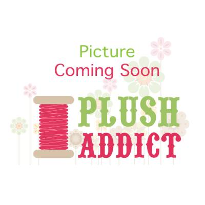 Remnant - Plush Addict White PUL - 25 x 145cm creased
